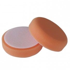 Polierschwamm Ø 88 x 25 mm Polierschwamm orange fest offenzellig