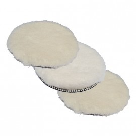 Ø 130 mm  Klett Wool-Polierpad