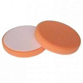 Polierschwamm Ø 150 x 25 mm orange mittelfest
