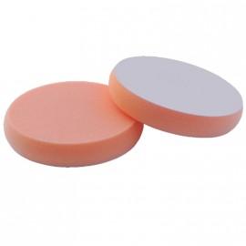 Polierschwamm Ø 165 x 30 mm orange fest offenzellig