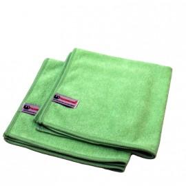 Mikrofasertuch Profi-Line grün,40/40cm, 80% Polyester/20% Polyamide, 280g/qm
